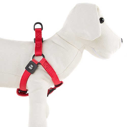 Arn s para perros tk pet neo classic rojo de nylon y for Nylon para estanques