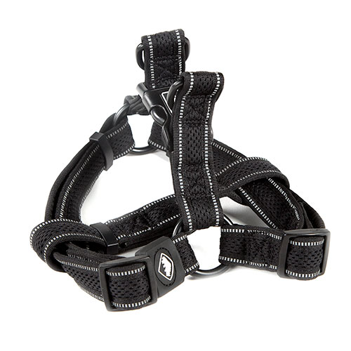 Arnés para perros TK-Pet Reflective Comfort negro