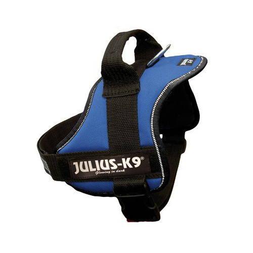 Arnés Julius K9 Robusto Azul para perros medianos y grandes