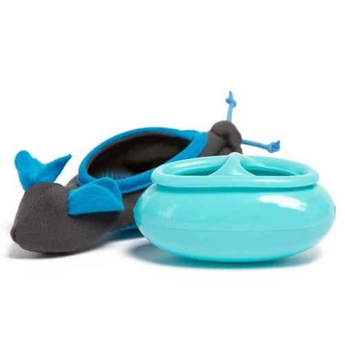 Atrapagolosinas de ratón para gatos color Azul