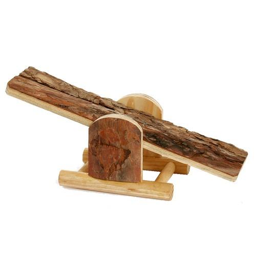 Balancín de madera para hamster