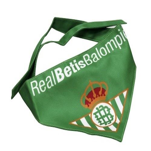 Bandana futbolera Betis para perros color Verde