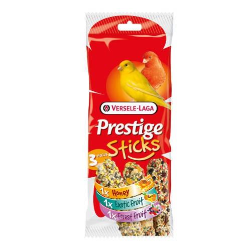 Barritas para canarios Versele Laga Prestige Sticks 3 sabores