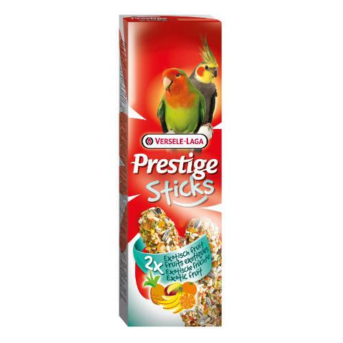 Barritas para grandes periquitos y cotorras Versele Laga Prestige frutas exóticas