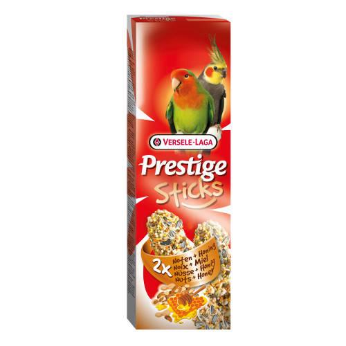 Barritas para grandes periquitos y cotorras Versele Laga Prestige nueces y miel