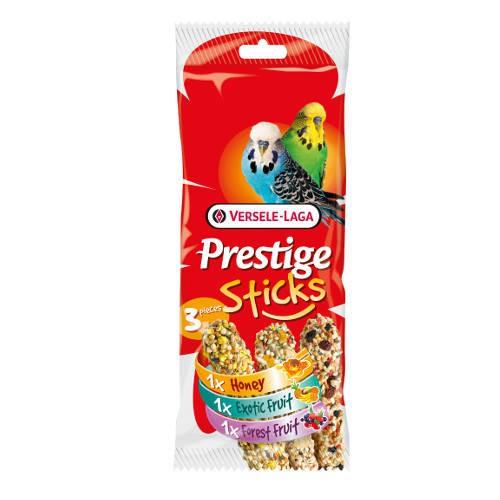 Barritas para periquitos Versele Laga Prestige Sticks 3 sabores