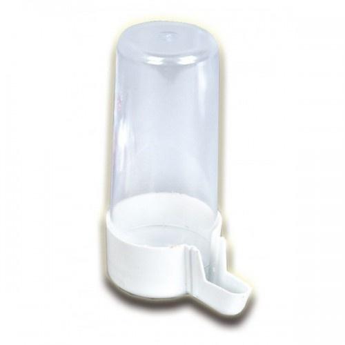 Bebedero de tubo modelo nº5 para pájaros color Blanco