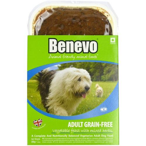 Benevo Dog Food Ingredients