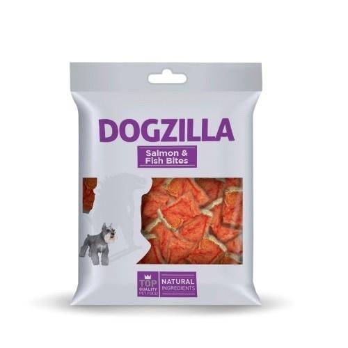 Bocados salmón y pescado Dogzilla para perros