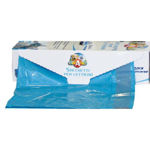 Bolsa higiénica desechable universal para bandejas sanitarias
