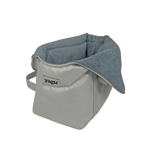 Bolso de transporte Dolce para perros color Azul y gris