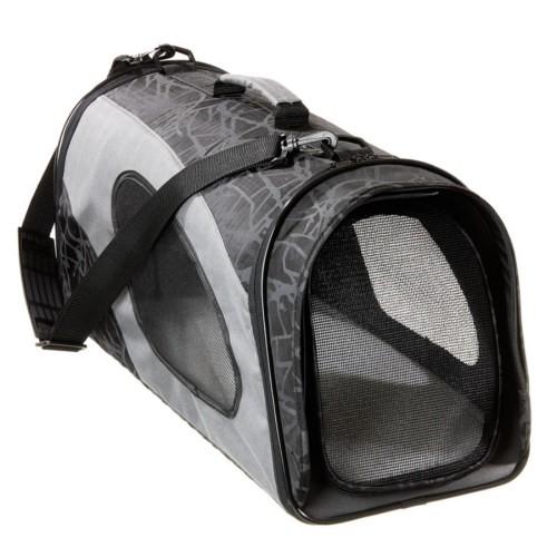 Bolso de transporte para perros y gatos negro