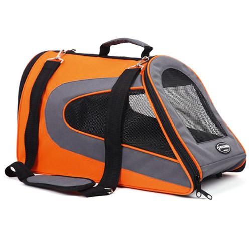 Bolso de transporte para perros y gatos Kibo Slide naranja