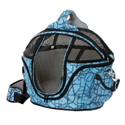 Bolso transportín cama Shopper Deluxe para mascotas Color Azul