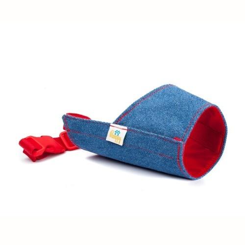 Bozal Pamppy Vaquero Azul para perros color Multicolor