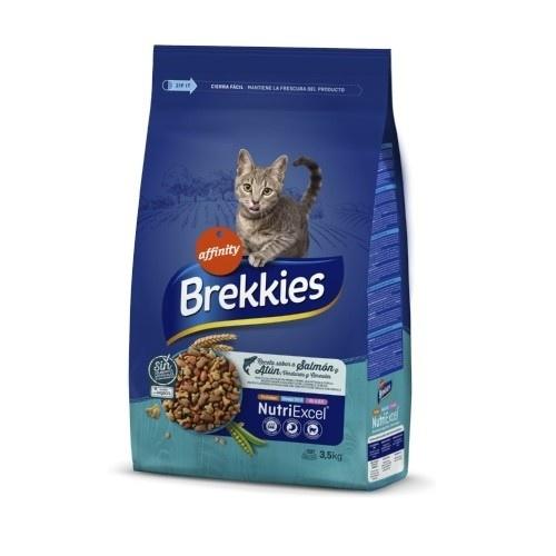 Brekkies Excel gato adulto Mix Pescado y Verduras