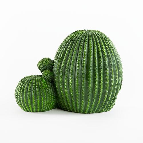 Cactus de resina escondite para reptiles