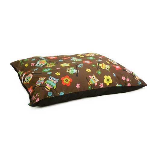 Cama colchón estampado búhos TK-Pet