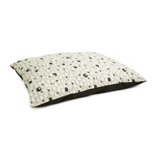 Cama colchón estampado ovejitas TK-Pet Shea