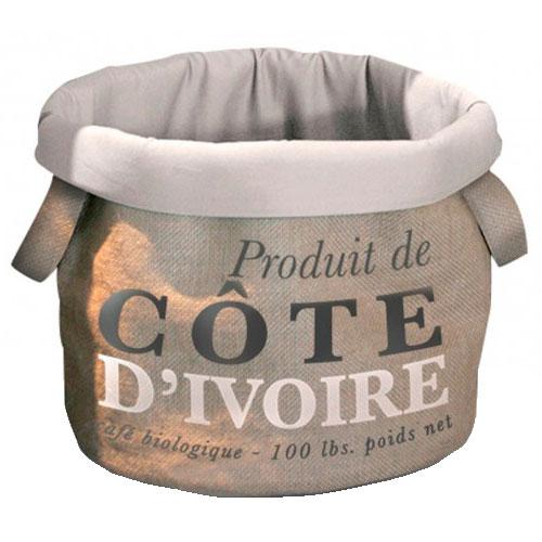 Cama de diseño saco de café Cote D'Ivoire