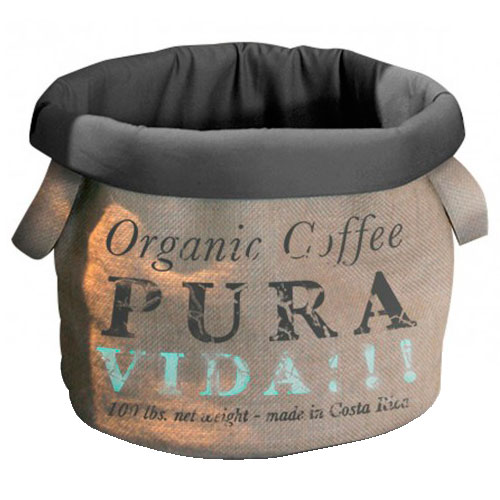 Cama de diseño saco de café Pura Vida