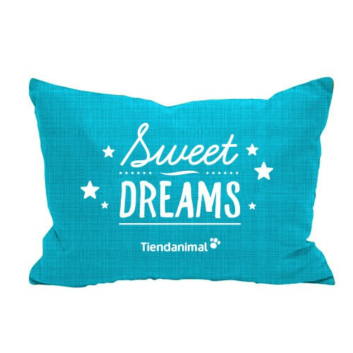 "Cama exclusiva ""Sweet Dreams"" azul"