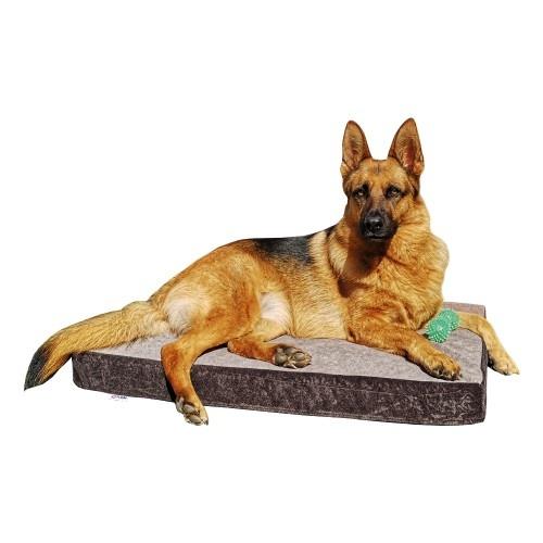 Cama ortopédica Breathair para perros color Marrón