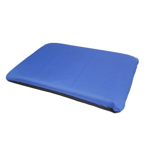Bed for dogs and cats TK-Pet Traveller mat type removable blue