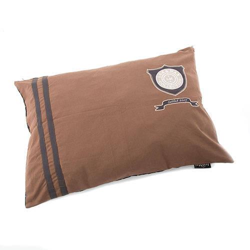 Cama para perros Heritage algodón color marrón topo