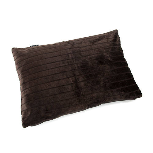 Cama para perros Royal Fur algodón color marrón