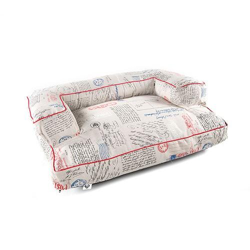 Cama para perros TK-Pet Post tipo sofá