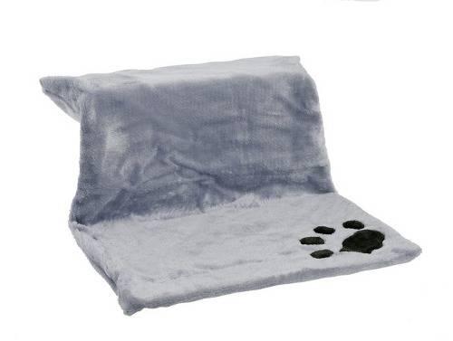 Cama para colgar del radiador gris