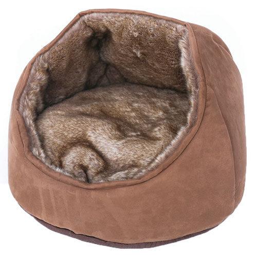 Cama suave para gatos Brownie Throne