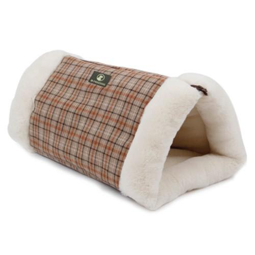 Cama túnel 2 en 1 para gatos Scotland estampado claro