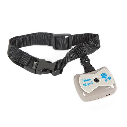 Cámara de vídeo con collar para perros y gatos Bimar Hi-Pet