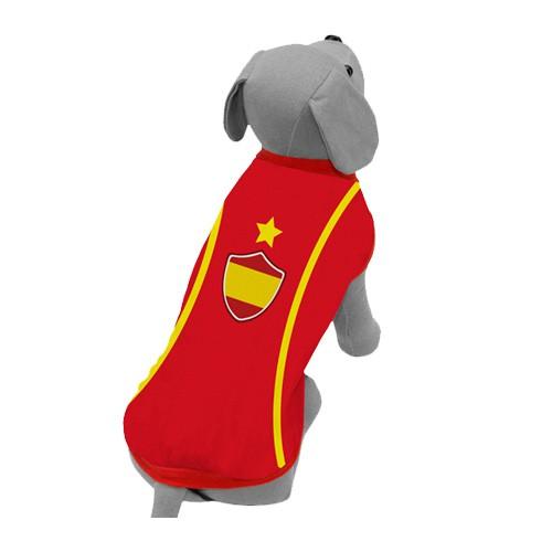 Camiseta de la selección española para perros
