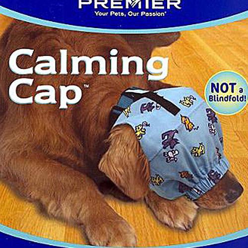 Capa tranquilizadora cubre-ojos para perros Color Azul Cielo