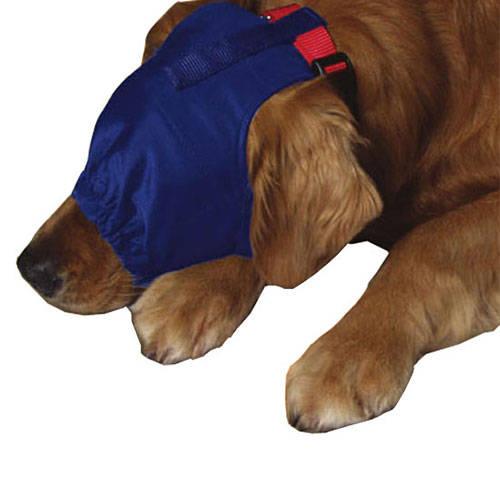 Capa tranquilizadora cubre ojos para perros color azul for Estanque para perros