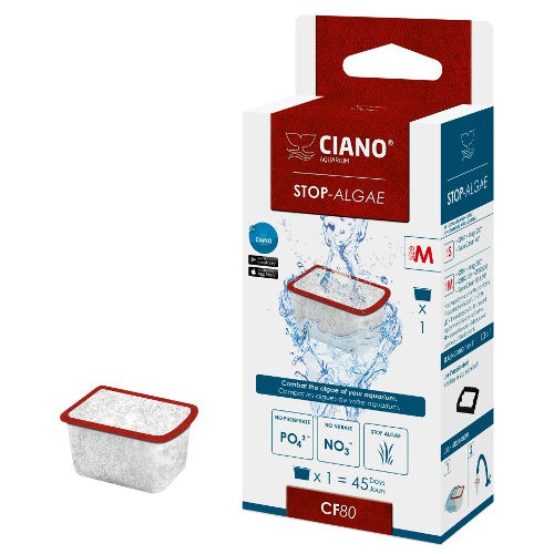 Cartucho Stop Algae M CF80 de Ciano