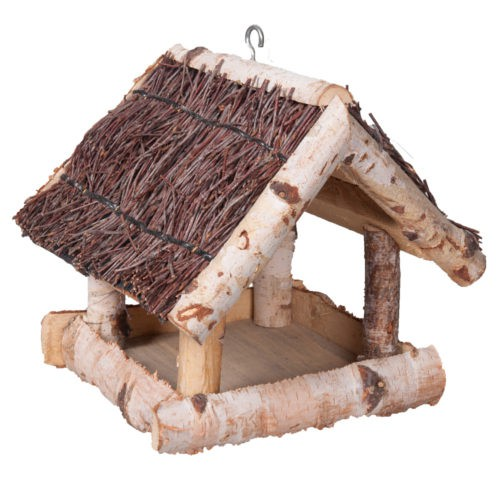 Casa nido rústica para aves