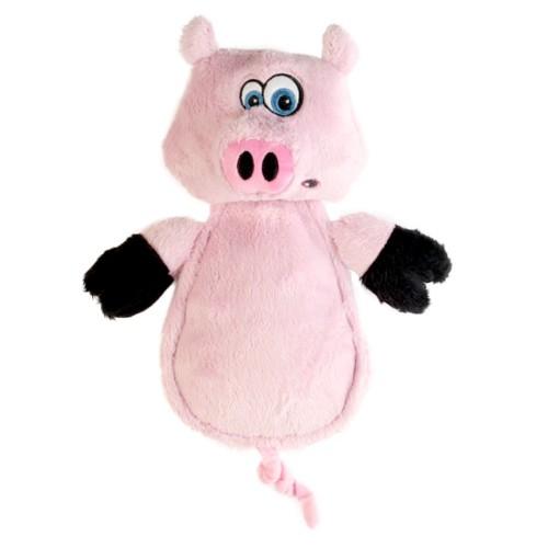Cerdo de peluche para perros con ultrasonidos