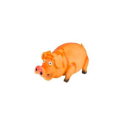 Cerdo de látex rechoncho con sonido real
