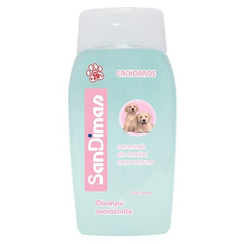 Champú para perros SanDimas con suavizante especial cachorros