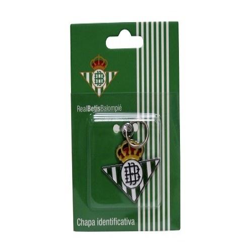 Chapa identificativa escudo Betis para perros color Verde
