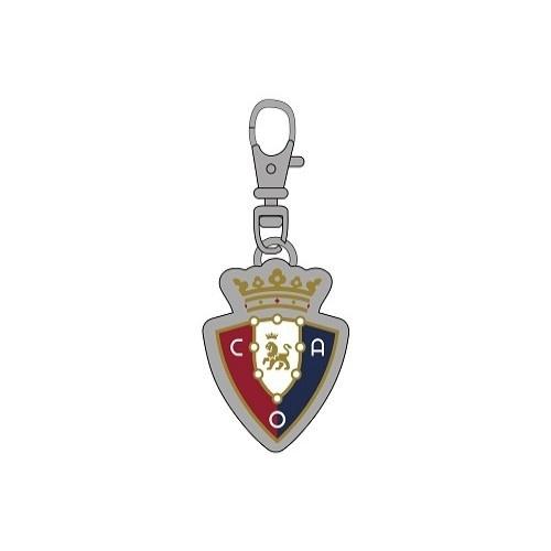 Chapa identificativa escudo Osasuna para perros color Rojo