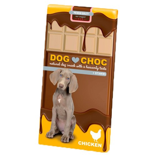 Chocolate para perros Dog Choc Chicken
