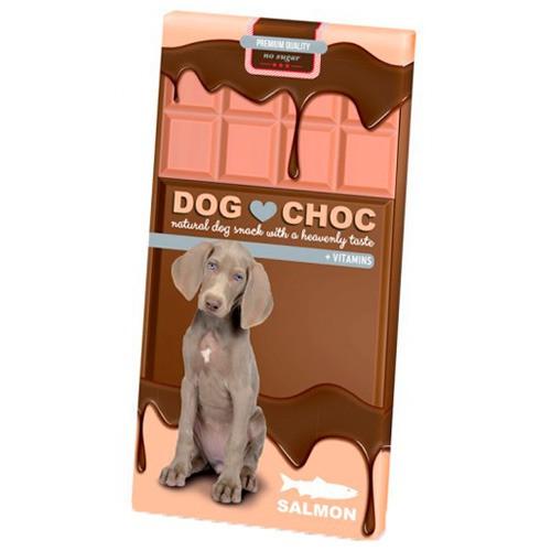 Chocolate para perros Dog Choc Salmon
