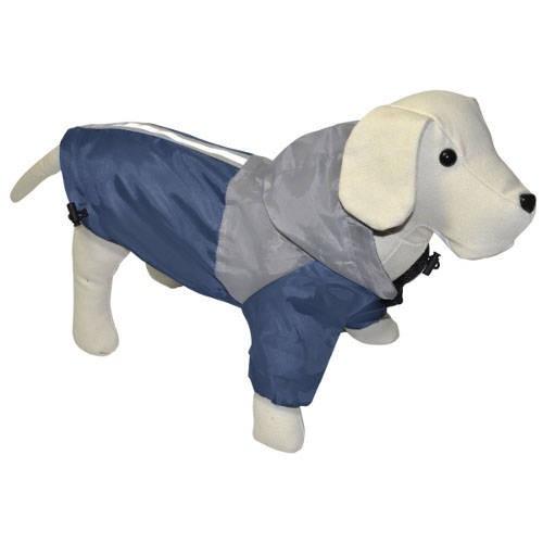 Chubasquero reflectante bicolor para perros