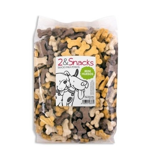 Chuches para perros 2&Snacks huesos mini