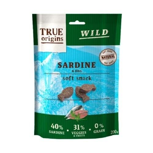 Chuches para perros True Origins sardina y eneldo